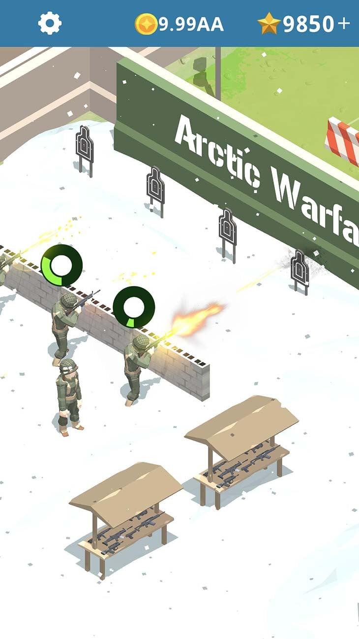 Idle Army Base screenshot 2