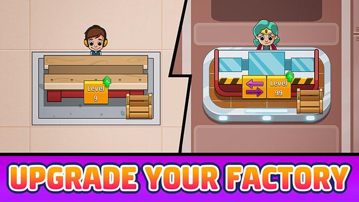 Idle Factory Tycoon screenshot 2