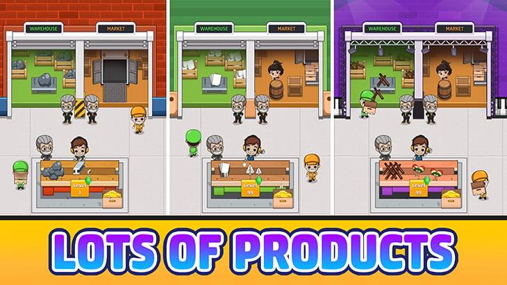 Idle Factory Tycoon screenshot 3