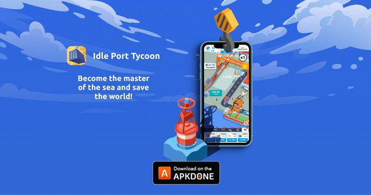 Idle Port Tycoon poster