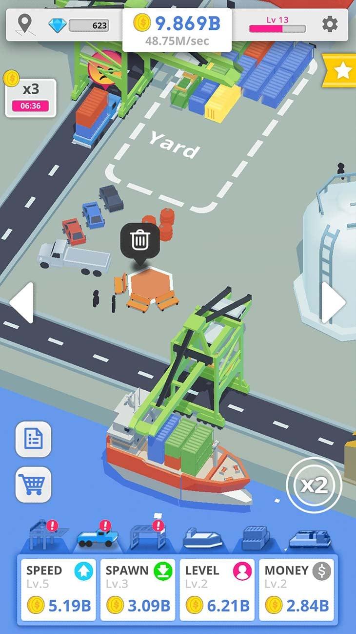 Idle Port Tycoon screenshot 3