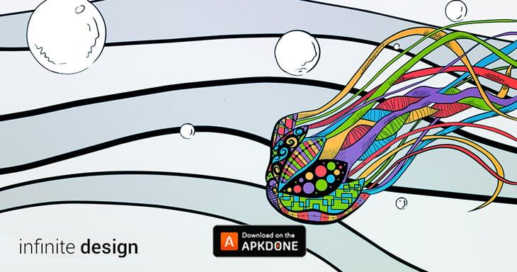 Infinite Design app poster