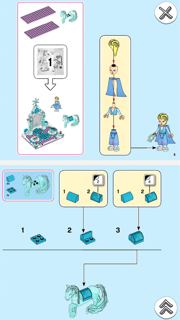 LEGO Building Instructions screenshot 2