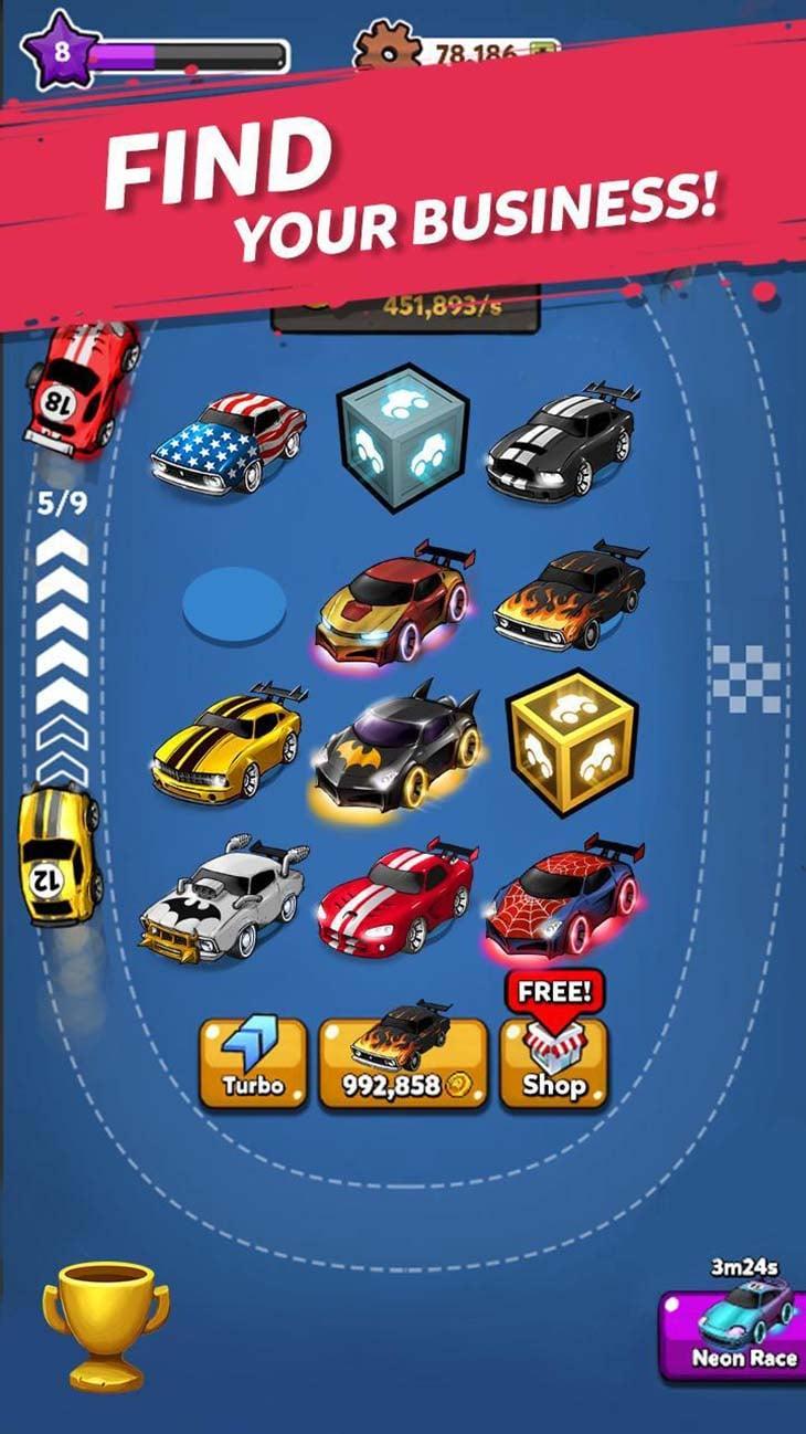 Merge Battle Car screenshot 3