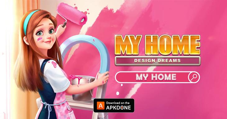 My Home Design Dreams Mod Apk 1 0 323 Download Unlimited Money