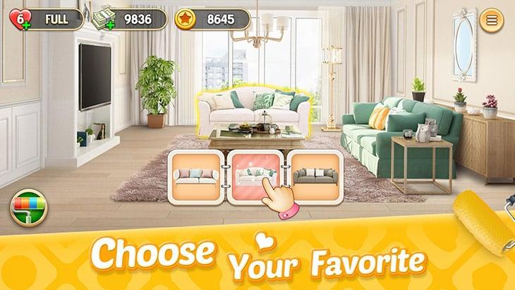 My Home: Design Dreams screenshot 3