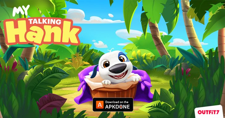 My Talking Hank poster