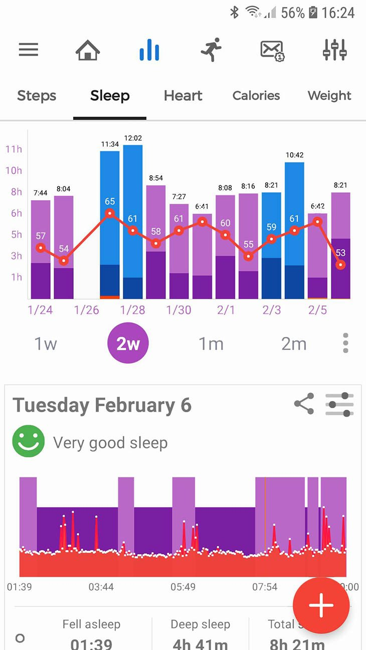 Notify and Fitness for Mi Band screenshot 2