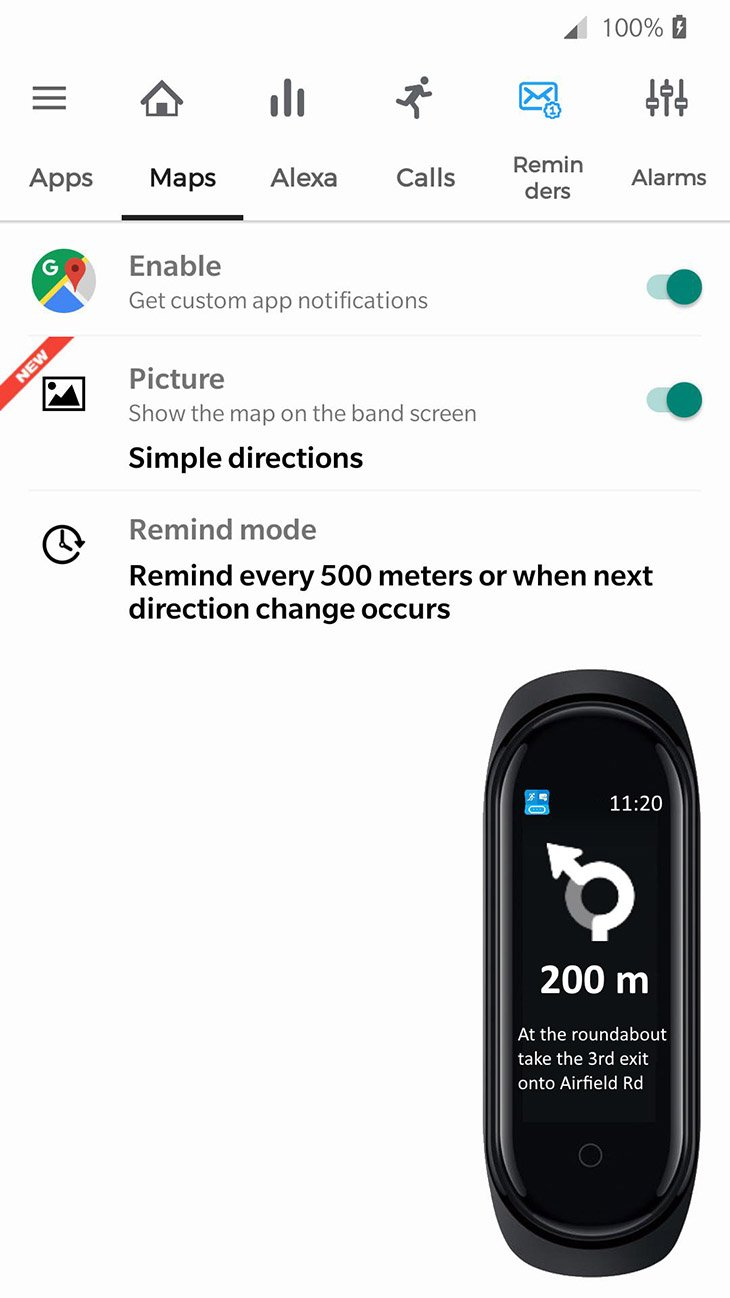 Notify and Fitness for Mi Band screenshot 3