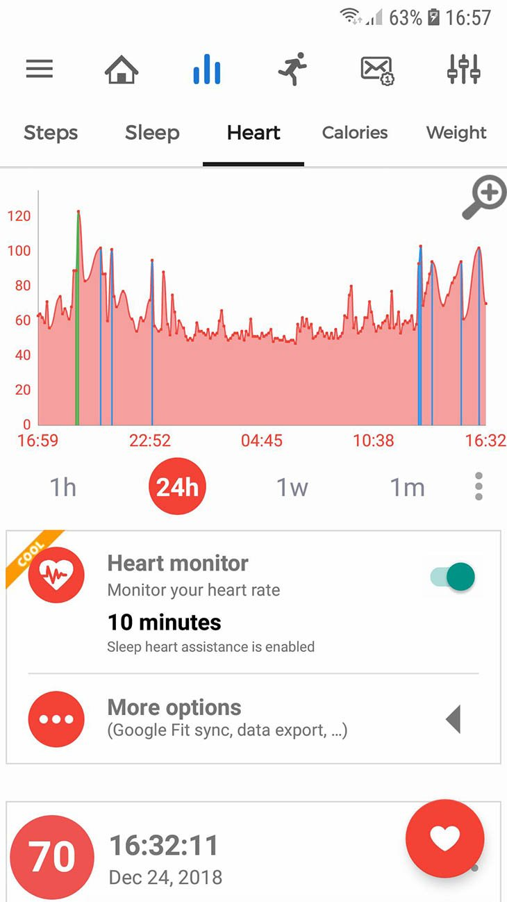 Notify and Fitness for Mi Band screenshot 4