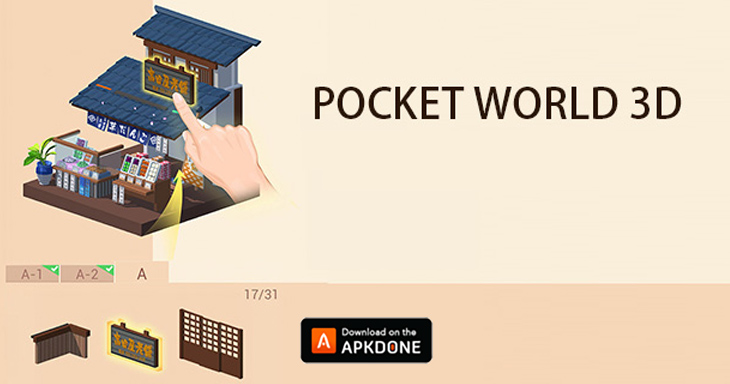 Pocket World 3D poster