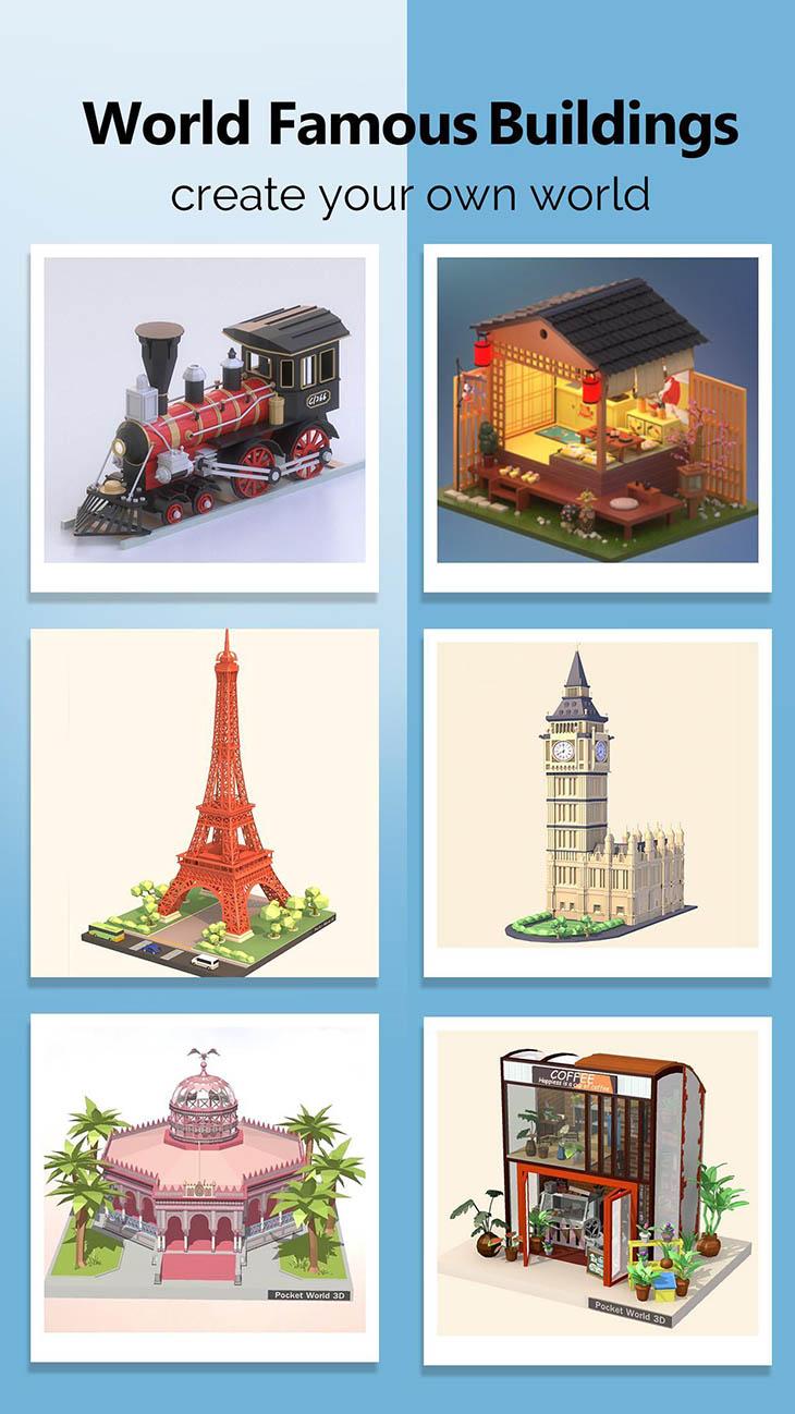 Pocket World 3D screenshot 3