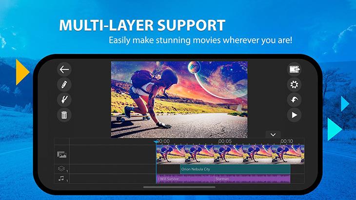 PowerDirector Mobile Video editor screenshot 1