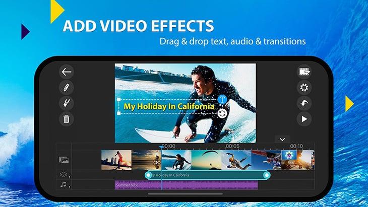 PowerDirector Mobile Video editor screenshot 2