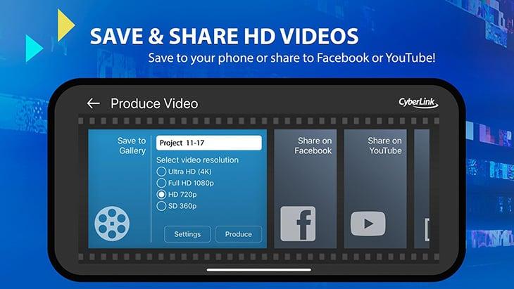 PowerDirector Mobile Video editor screenshot 4