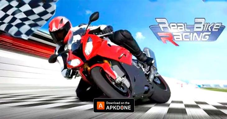 Real Bike Racing poster