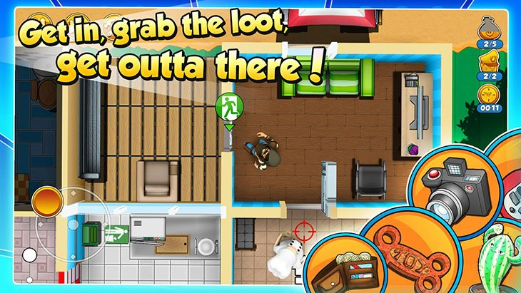 Robbery Bob 2: Double Trouble screenshot 2