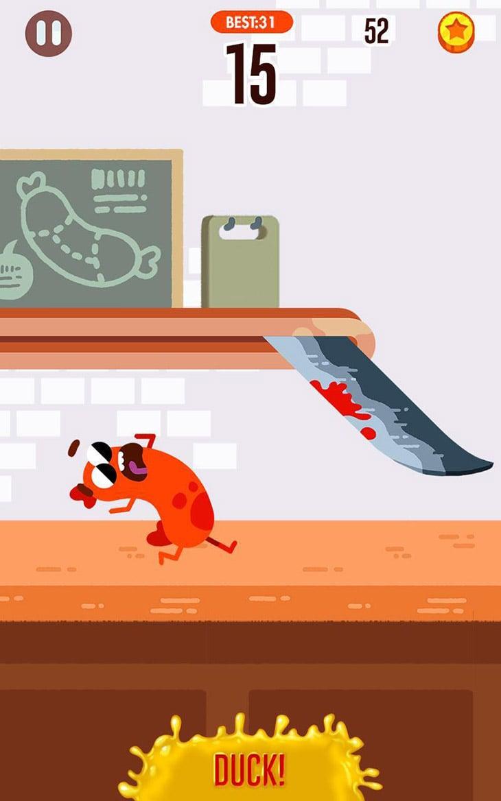 Run Sausage Run screenshot 1
