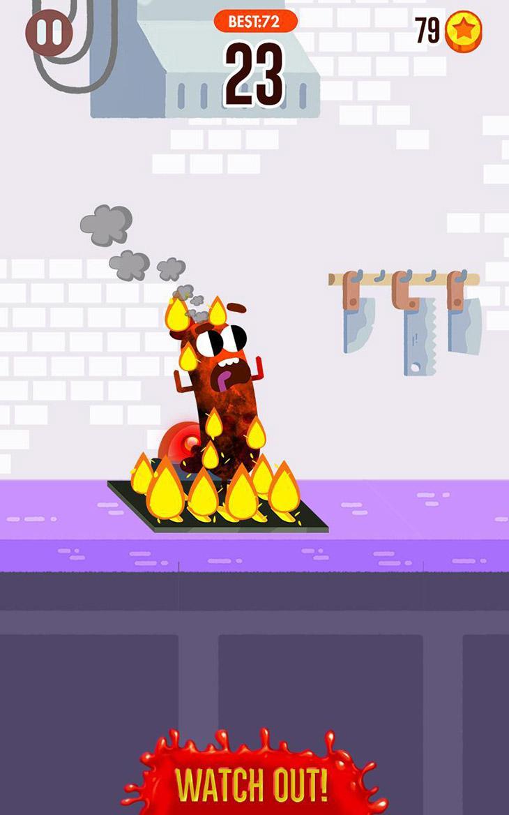 Run Sausage Run screenshot 2