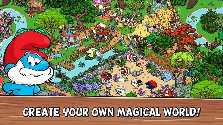 Smurfs Village screenshot 1