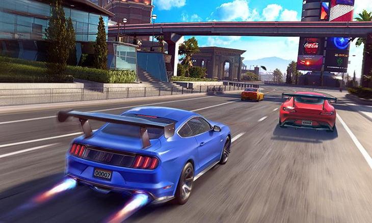 Street Racing 3D screenshot 1