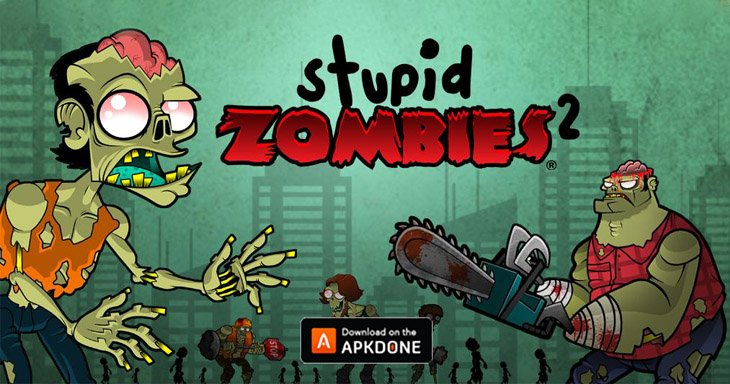 Stupid Zombies 2 poster
