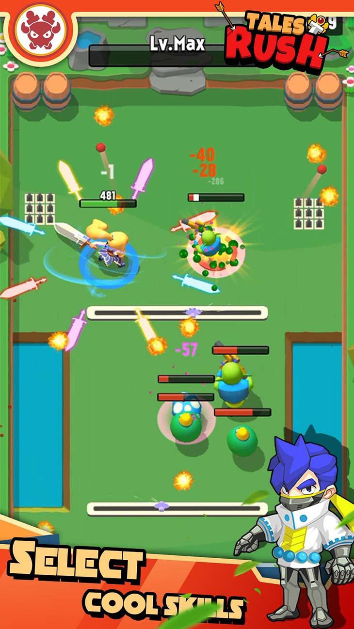 Tales Rush screenshot 1