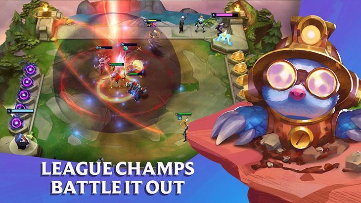 Teamfight Tactics screenshot