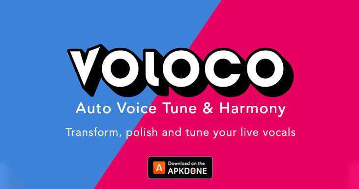 Voloco: Auto Voice Tune and Harmony poster