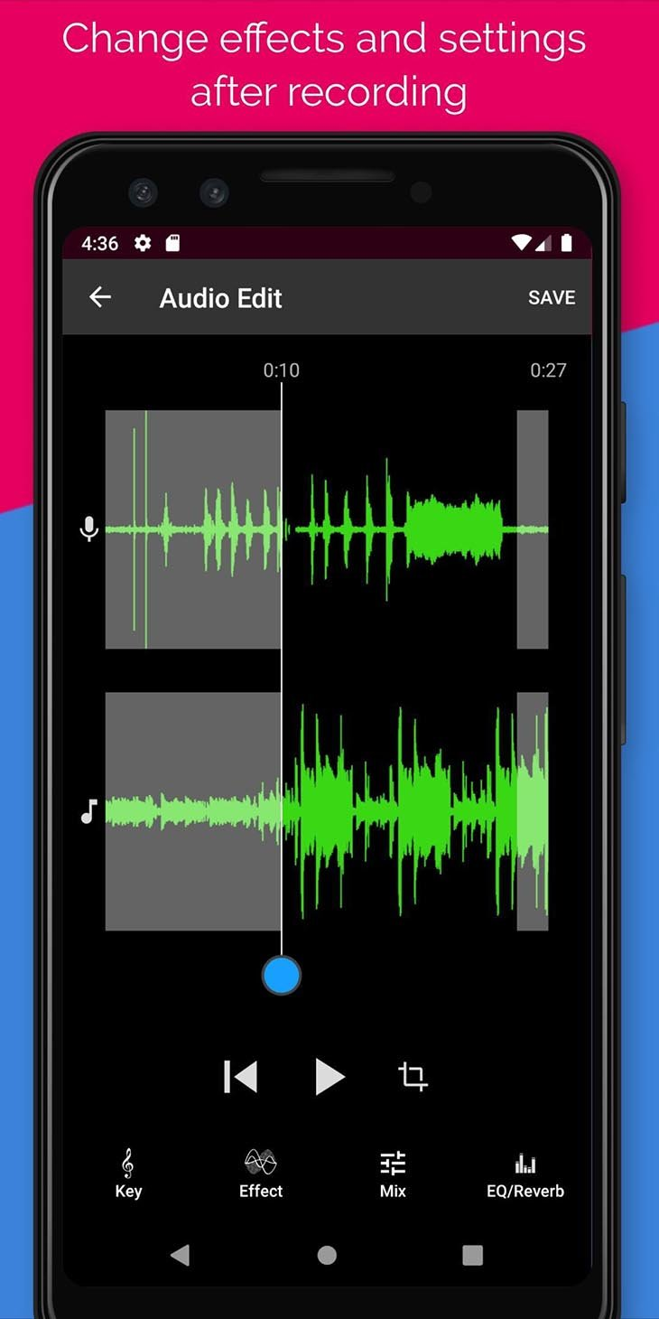 Voloco: Auto Voice Tune and Harmony screenshot 4