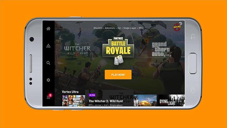 Vortex Cloud Gaming screenshot 3