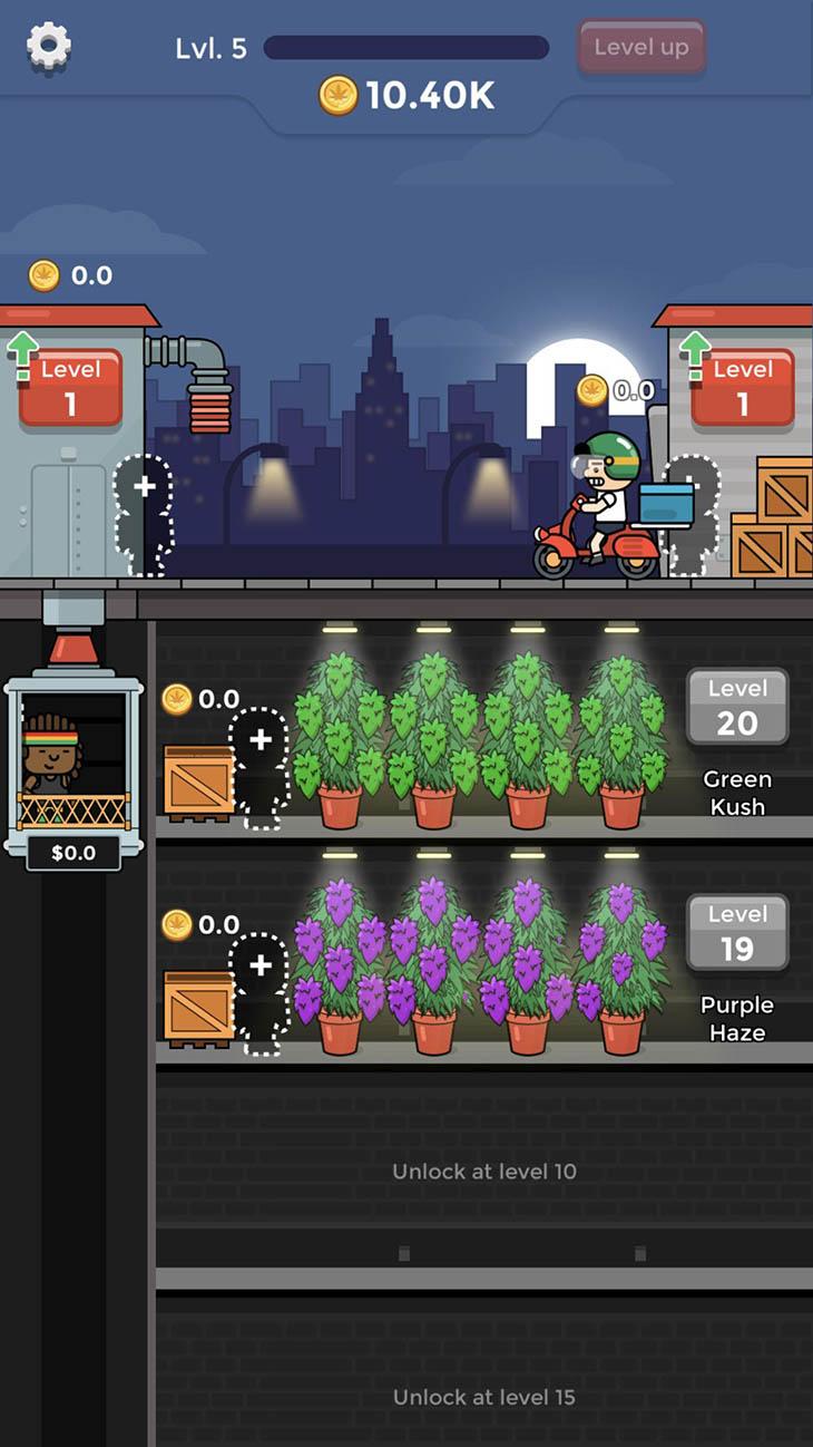 Weed Factory Idle screenshot 3