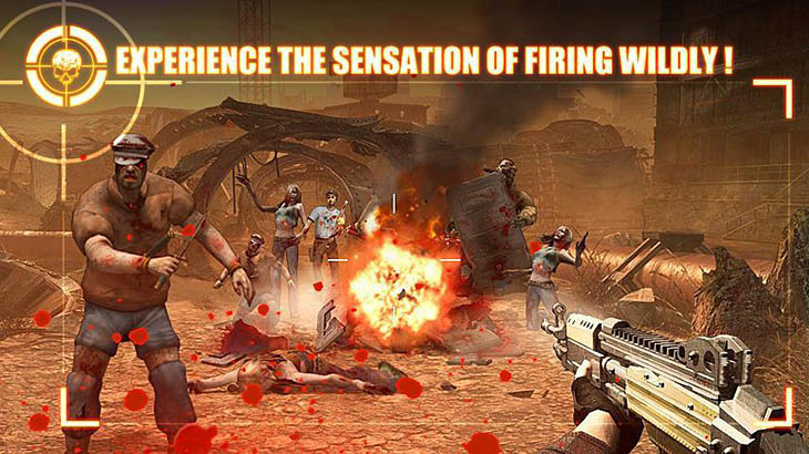 Zombie Frontier 2 Survive screenshot 1
