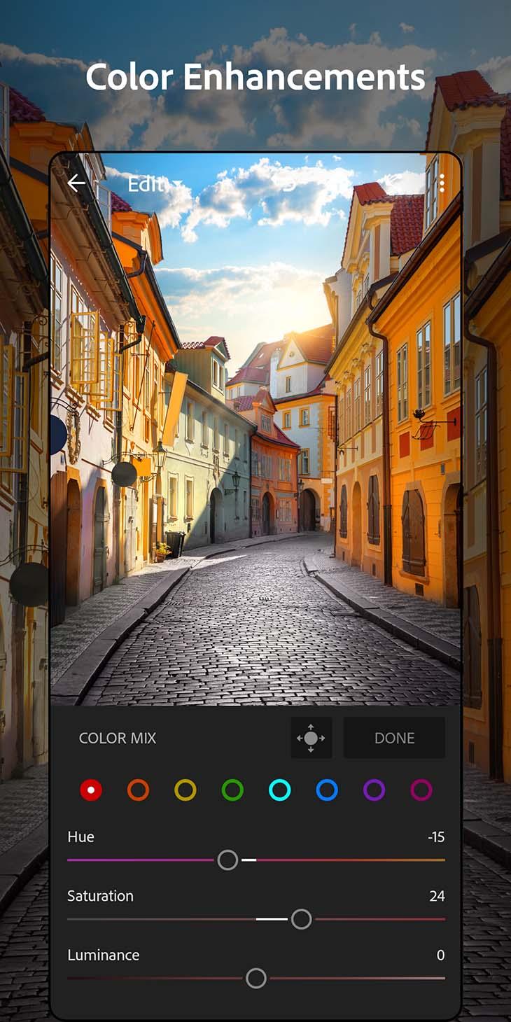 Adobe Lightroom mobile screenshot 3