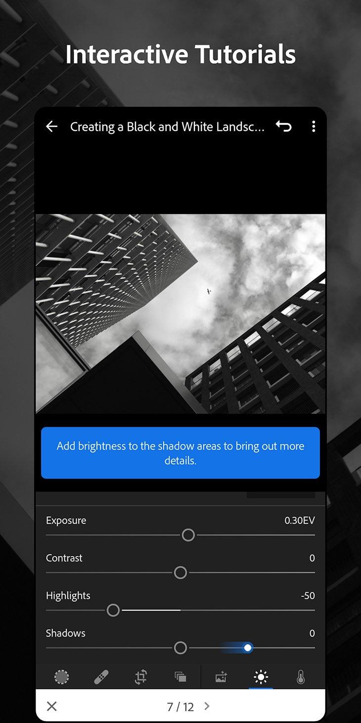 Adobe Lightroom mobile screenshot 5