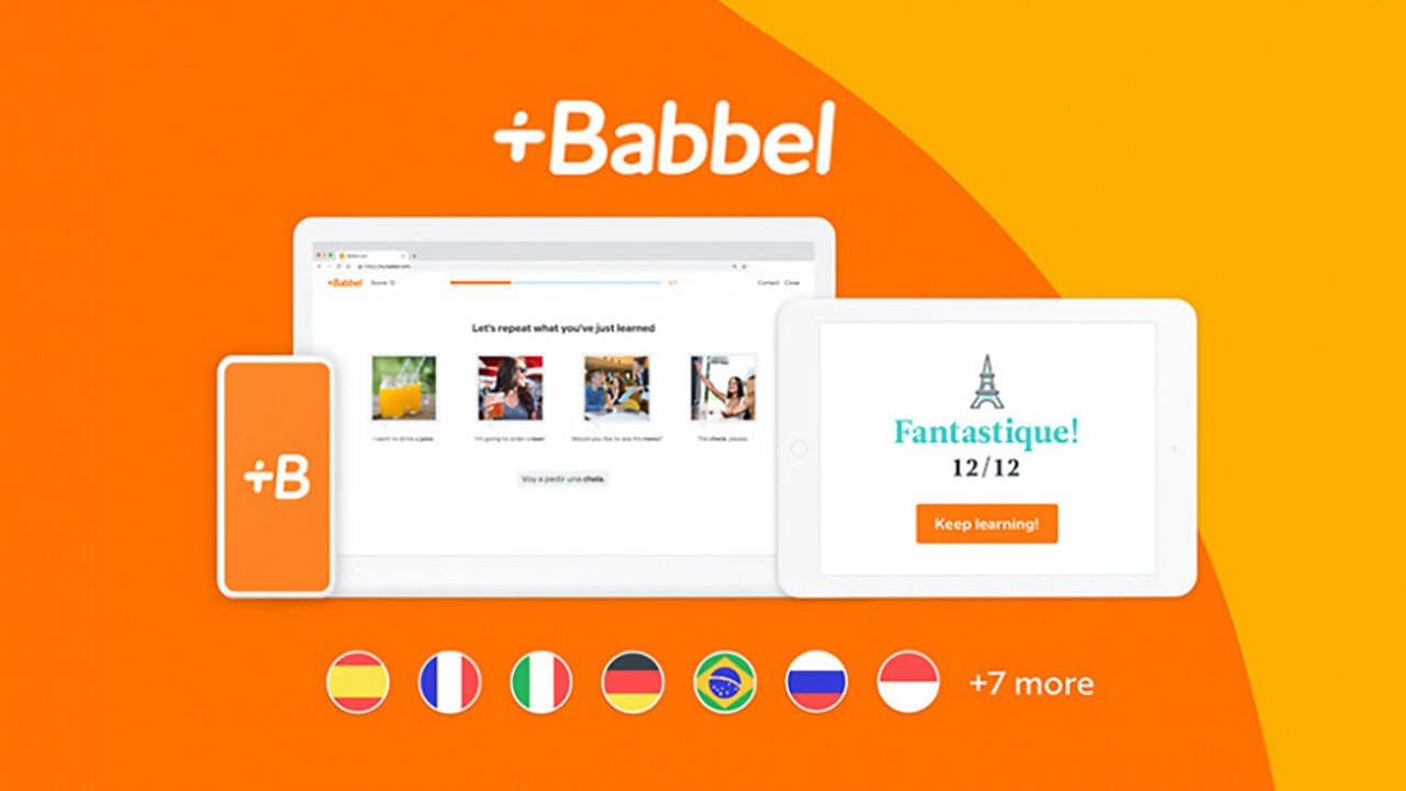 Babbel Learn Languages poster