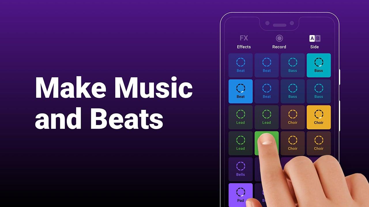 Groovepad: Music and Beat Maker screenshot 1