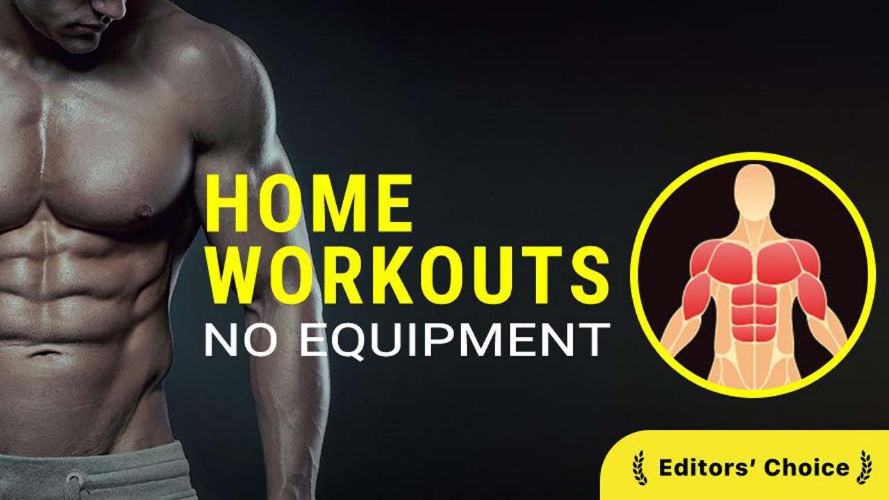 Home Workout No Equipment poster
