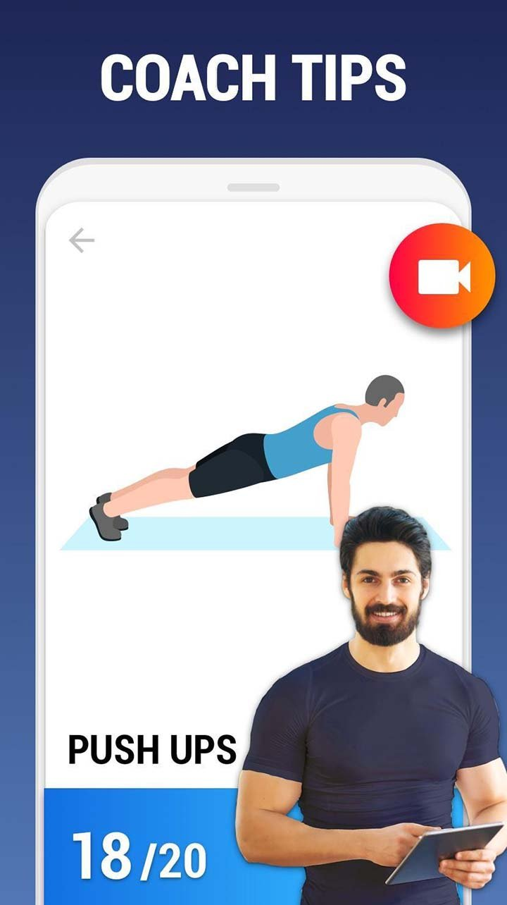 Home Workout No Equipment screenshot 2