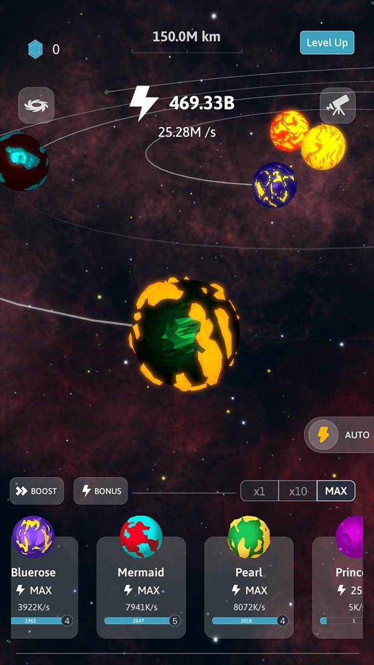 Idle Galaxy screenshot 5