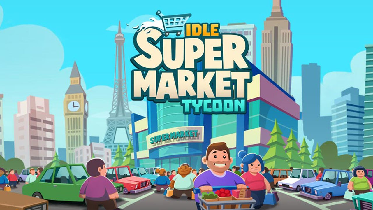 Idle Supermarket Tycoon poster
