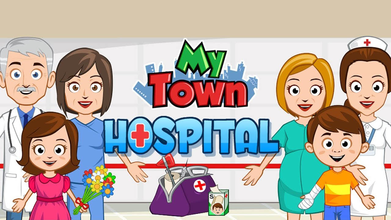 My Town Hospital poster