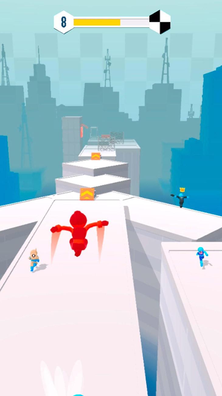 Parkour Race screenshot 1