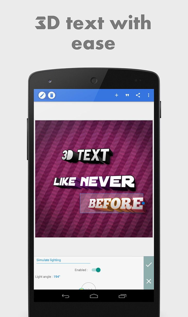 PixelLab: Text on pictures screenshot 2