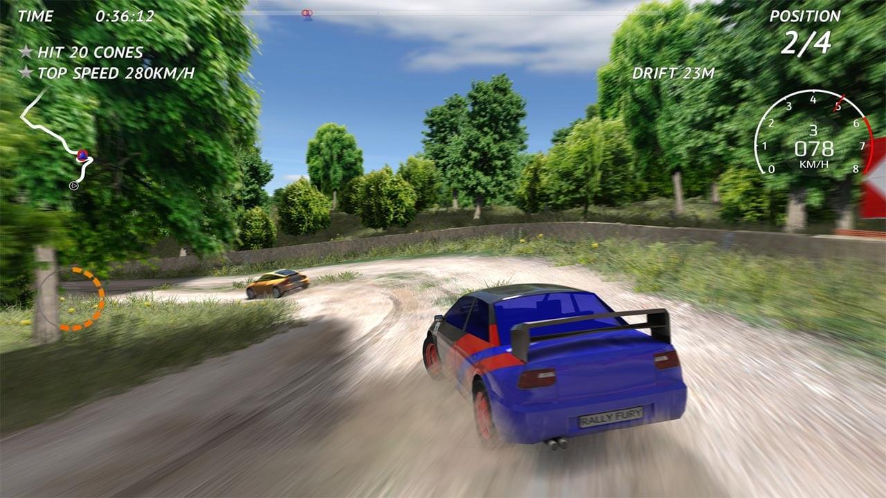 Rally Fury screenshot 3