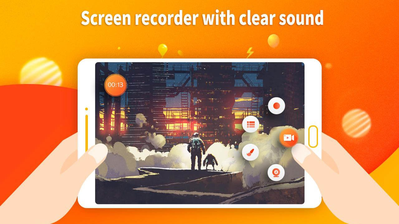 Screen Recorder and Video Recorder Editor poster