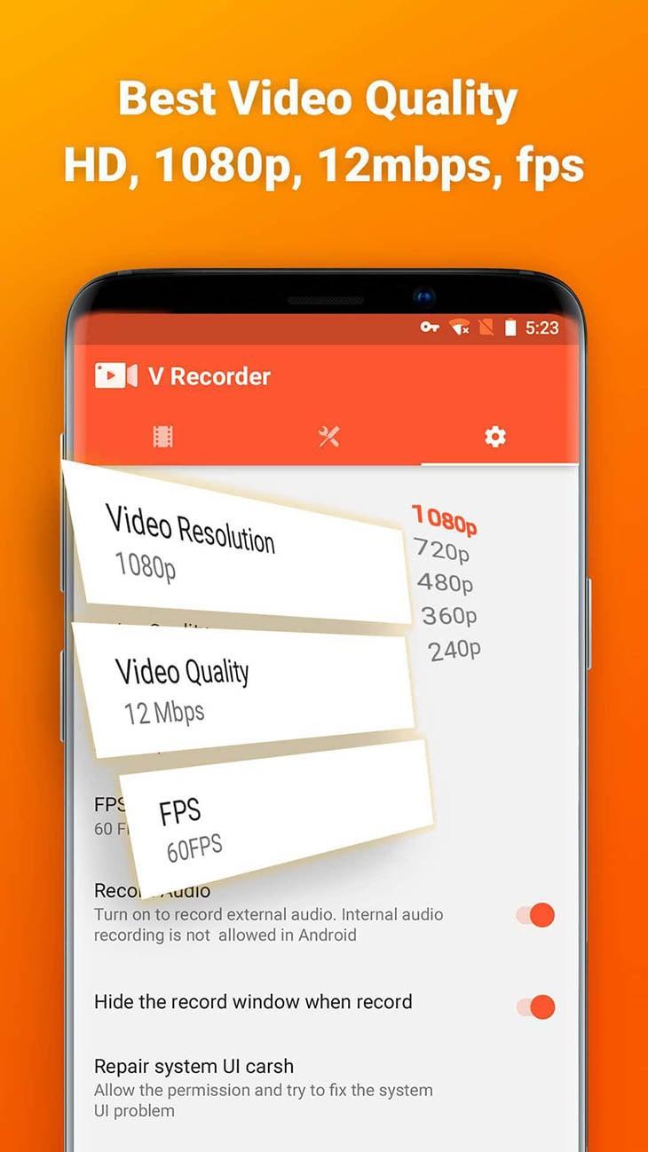 Screen Recorder and Video Recorder Editor screenshot 5