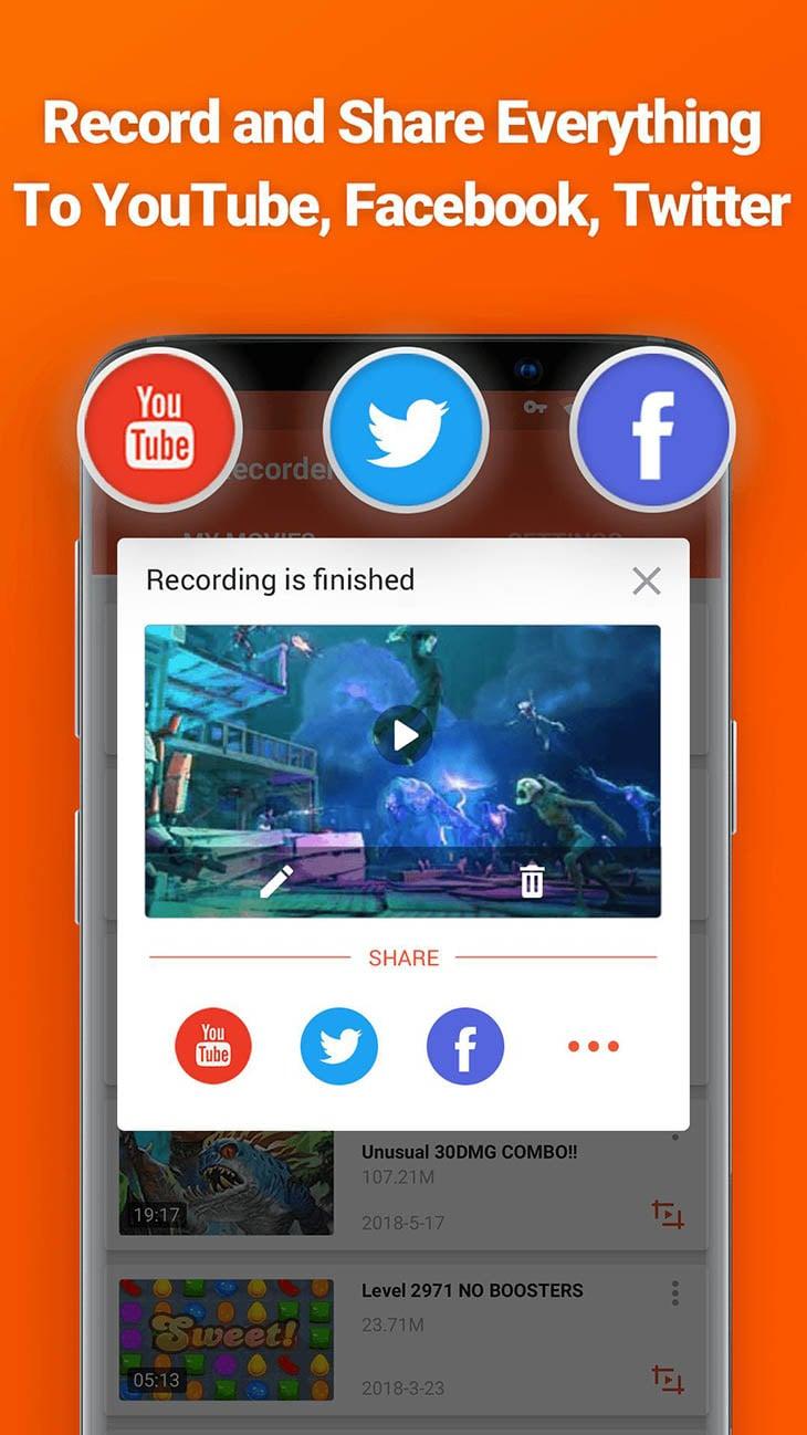 Screen Recorder and Video Recorder Editor screenshot 6