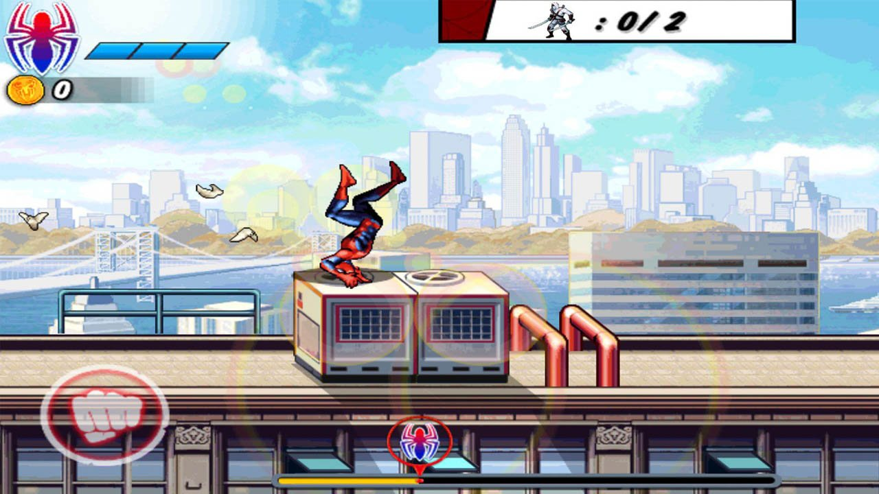 Spider-Man Ultimate Power screenshot 1