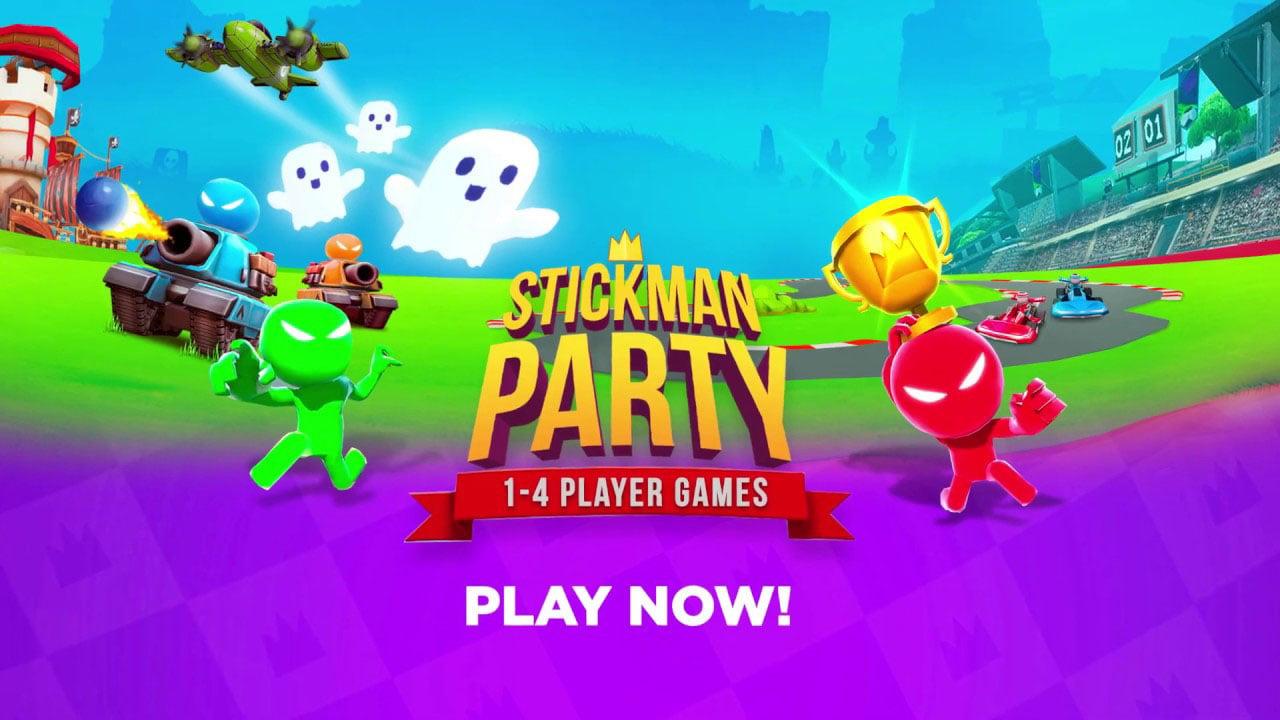 Stickman Party MOD APK Much Money